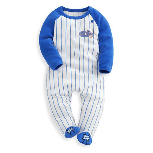 棒球包腳連身衣-Baby
