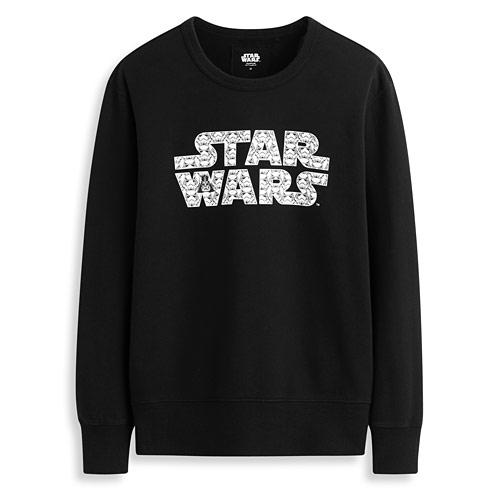STAR WARS系列毛圈圓領衫-男