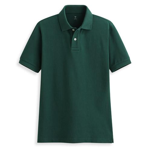 純棉短袖polo衫-男