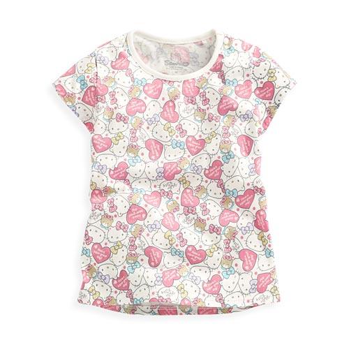 Hello Kitty印花T恤-05-Baby
