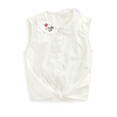 小圓領背心襯衫-Baby