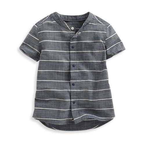 全棉條紋襯衫-Baby