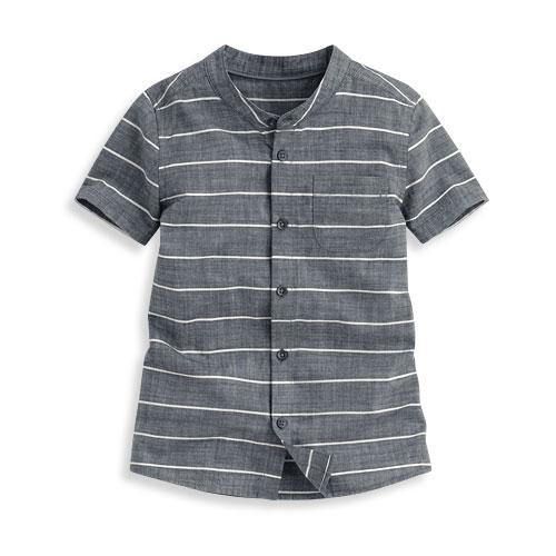 全棉條紋襯衫-童