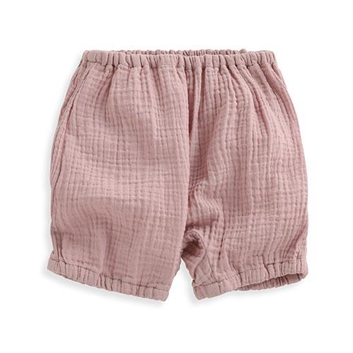 鬆緊縮口短褲-Baby