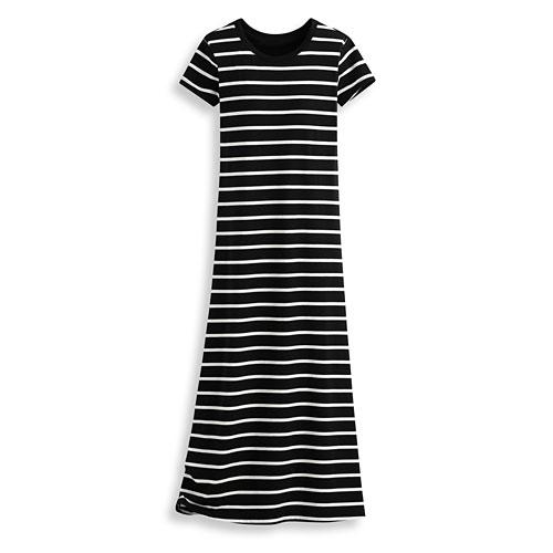 Bra莫代爾條紋長洋裝-女