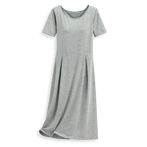 Bra莫代爾短袖洋裝-女