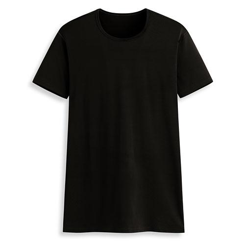 輕涼圓領短袖T恤-男