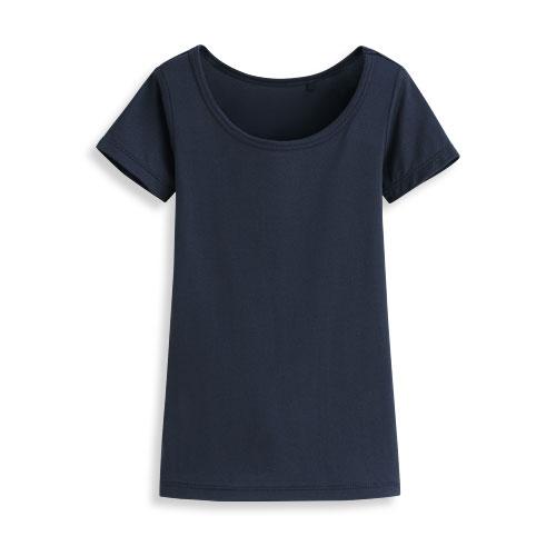 輕涼網眼圓領短袖T恤-童