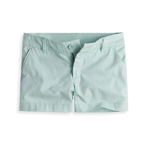 卡其超短褲-女
