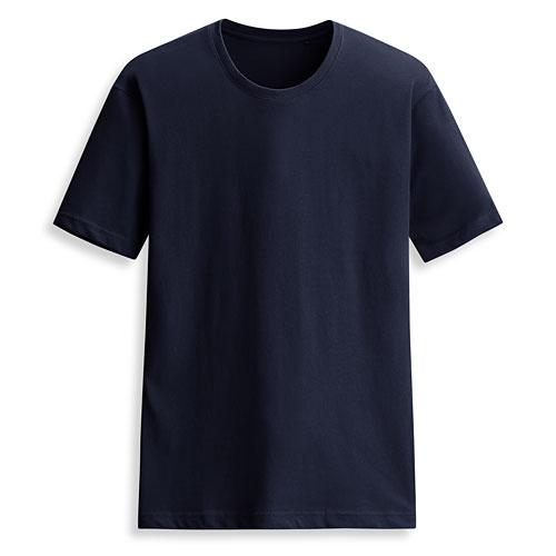 快乾棉圓領短袖T恤-男