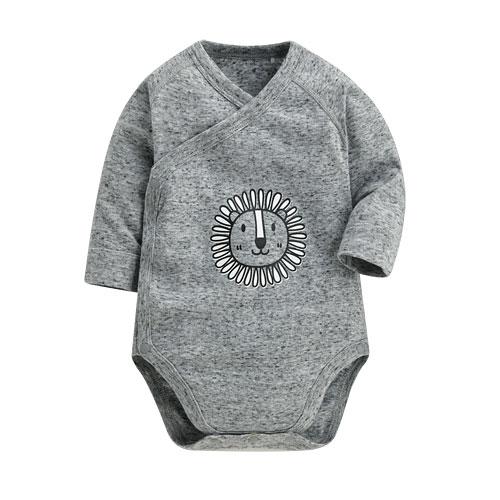 羅紋印花包臀衣-Baby