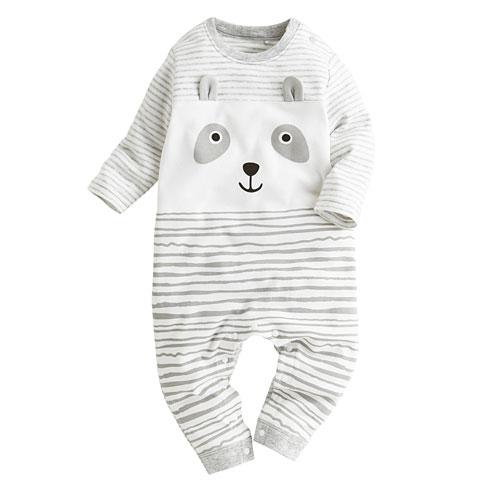 動物印花連身衣-Baby