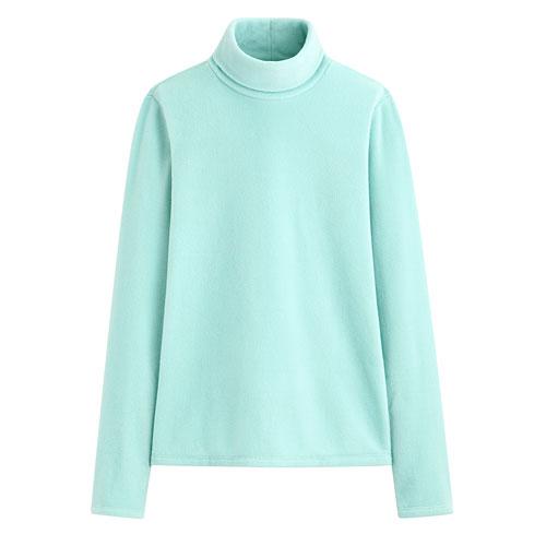 Fleece高領衫-女