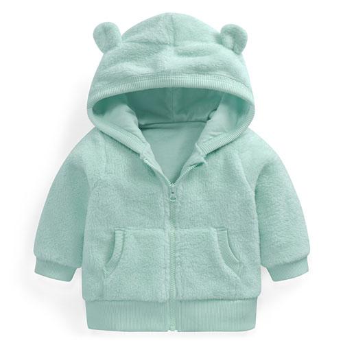 Fleece長刷毛外套-Baby