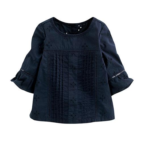 棉質喇叭袖上衣-Baby
