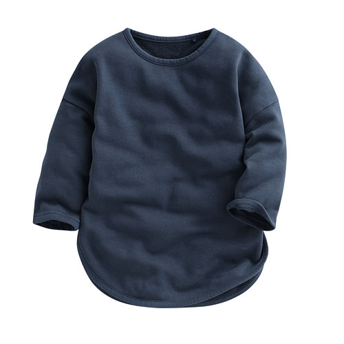 小毛圈長版衫-Baby