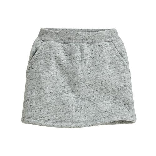 毛絨短裙-童