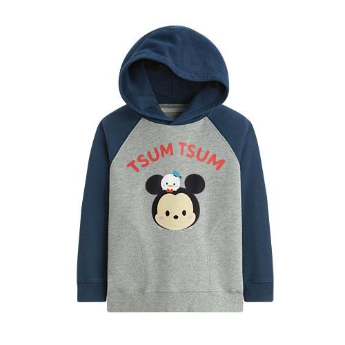 Tsum Tsum系列毛圈連帽衫-03-童