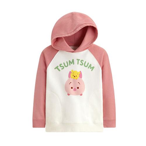 Tsum Tsum系列毛圈連帽衫-02-童