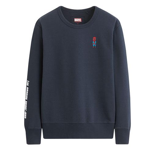 漫威系列毛圈圓領衫-01-男