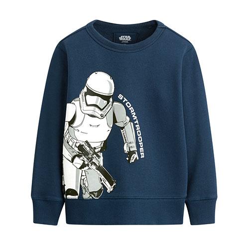 STAR WARS系列毛圈圓領衫-04-童