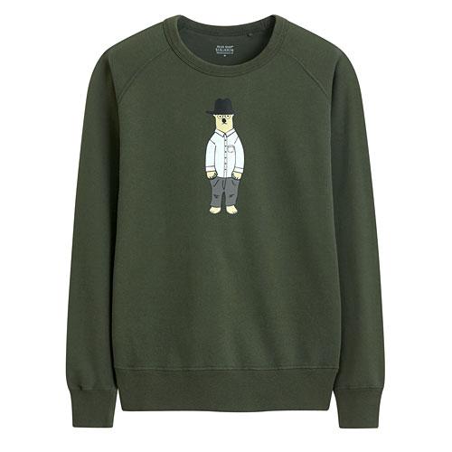 Polar Bear Benjamin毛圈圓領衫-02-男