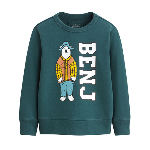 Polar Bear Benjamin毛圈圓領衫-02-童
