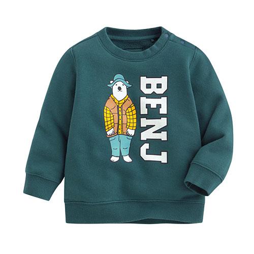 Polar Bear Benjamin毛圈圓領衫-02-Baby