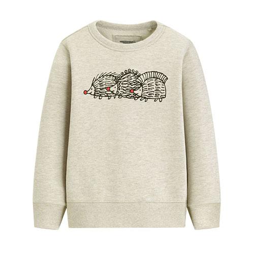 Lisa Larson毛圈圓領衫-01-童