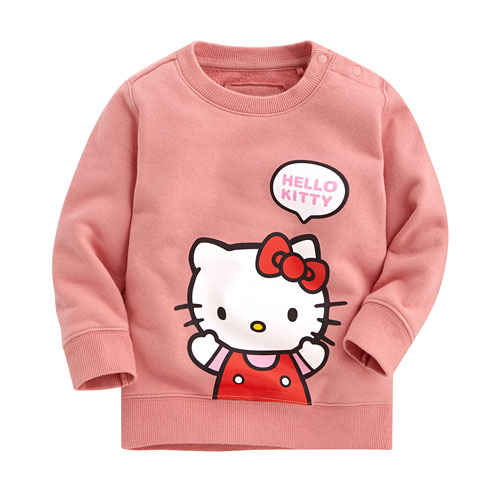 Hello Kitty毛圈圓領衫-01-Baby