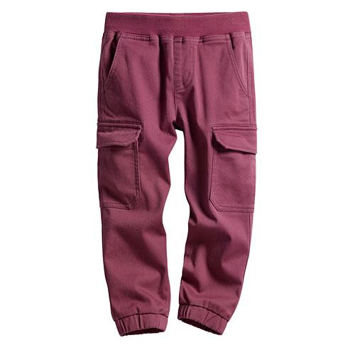羅紋束口工作褲-童
