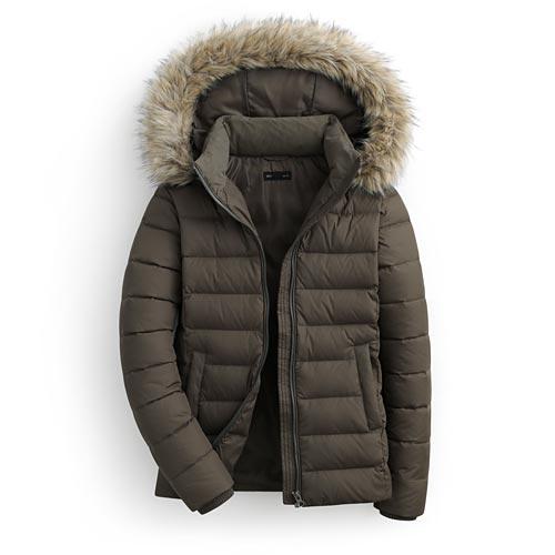 極暖羽絨外套-女