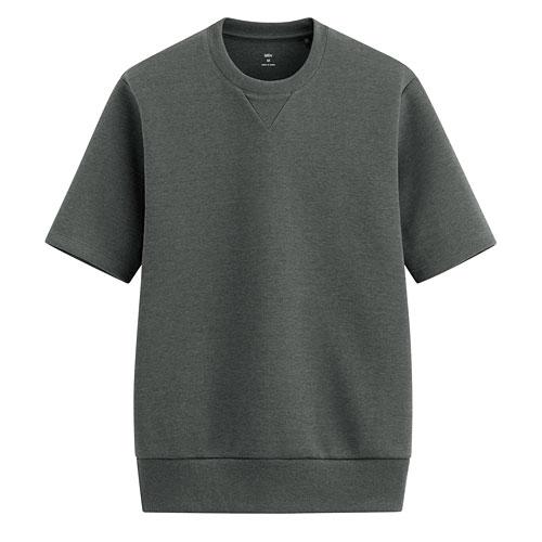 吸排彈性加厚圓領短袖T恤-男