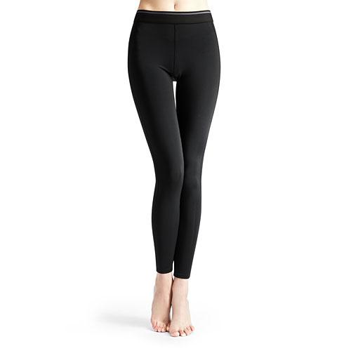 吸排運動緊身長褲-女