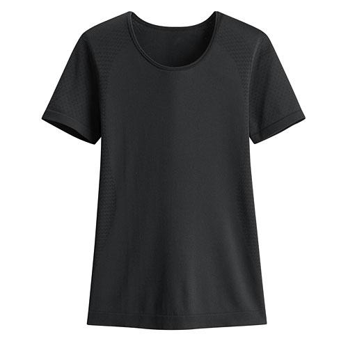 無縫運動短袖上衣-女