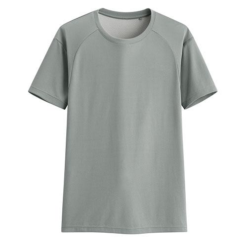 吸排運動圓領T恤-男