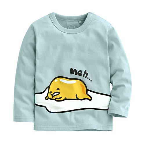 蛋黃哥印花長袖T恤-01-Baby