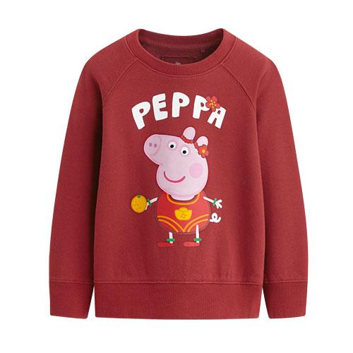 Peppa Pig毛圈圓領衫-04-童