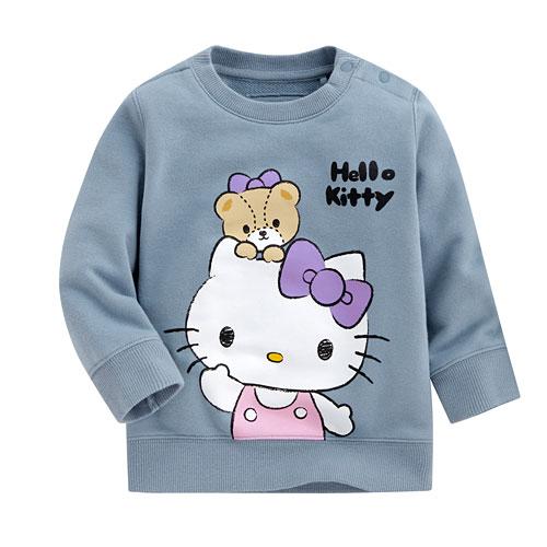 Hello Kitty毛圈圓領衫-03-Baby