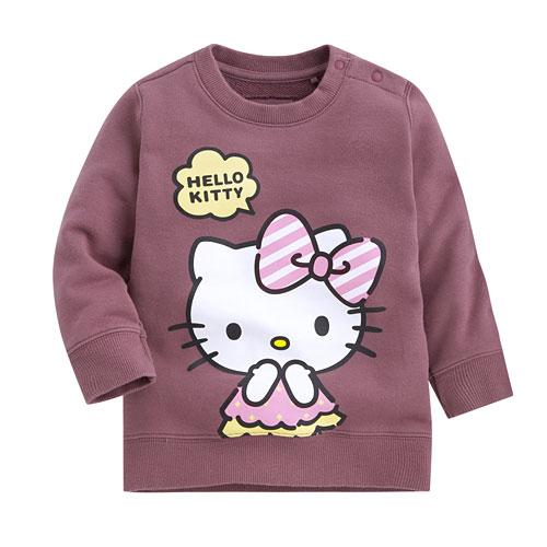 Hello Kitty毛圈圓領衫-04-Baby