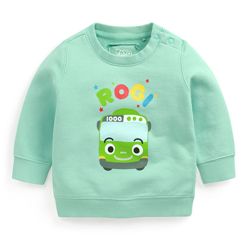 TAYO The Little Bus毛圈圓領衫-02-Baby