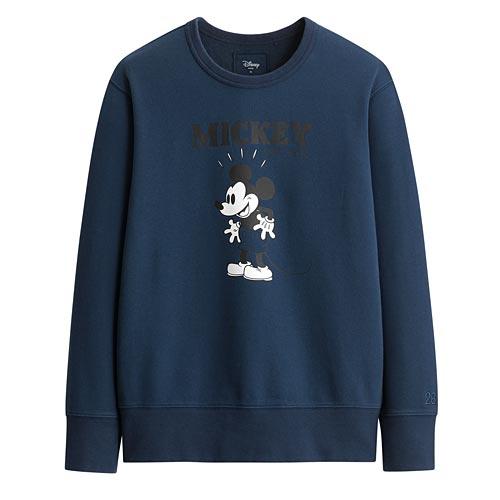 迪士尼系列毛圈圓領衫-03-男