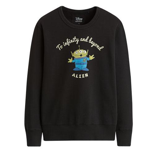 皮克斯系列毛圈圓領衫-男