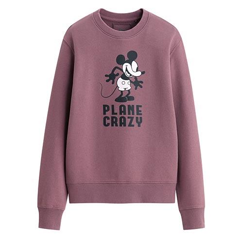 迪士尼系列毛圈圓領衫-02-女