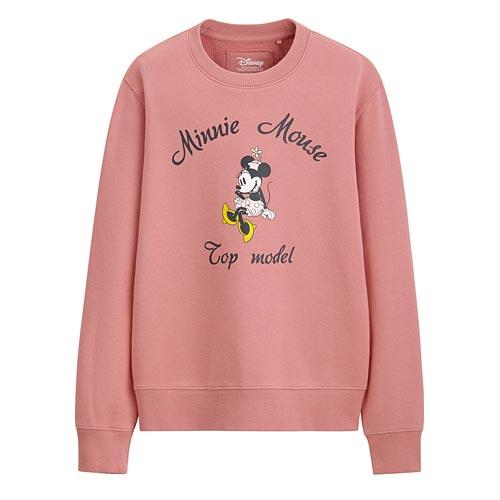 迪士尼系列毛圈圓領衫-04-女