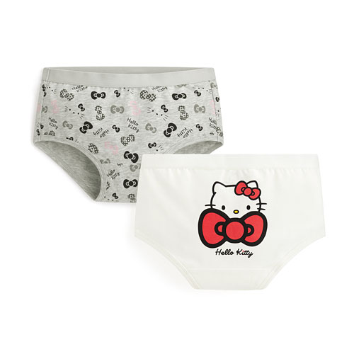 Hello Kitty棉質內褲(2入)-童