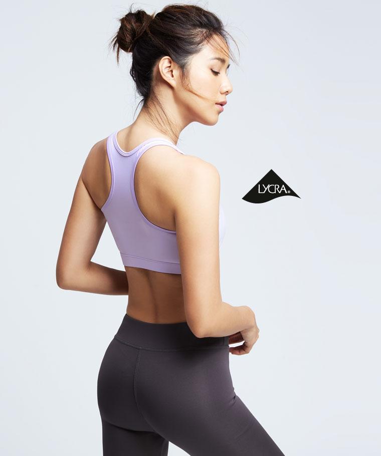 吸排輕度支撐運動Bra-女