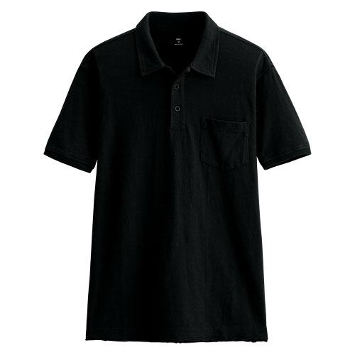 竹節棉polo衫-男