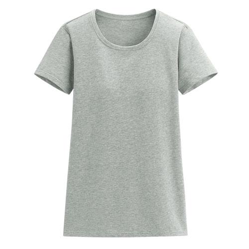 Bra圓領短袖T恤-女
