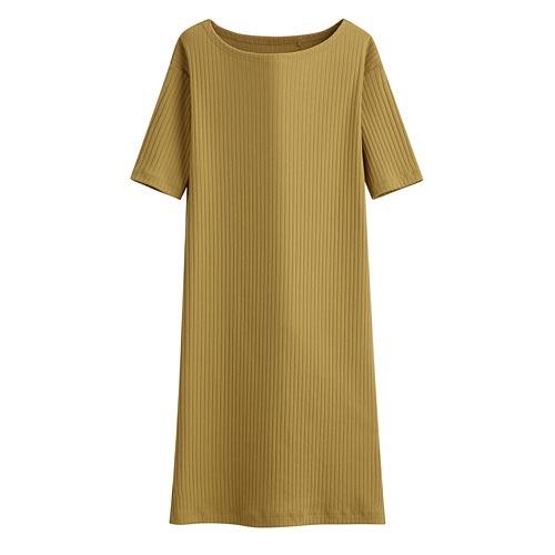 羅紋洋裝-女